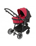 Capazo Cranberry Click'n move 3 de Kiddy