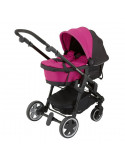 Capazo Rosa Click'n move 3 de Kiddy