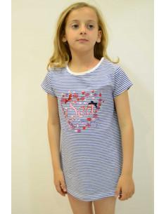 Camiseta de niña verano Royal de Girandola