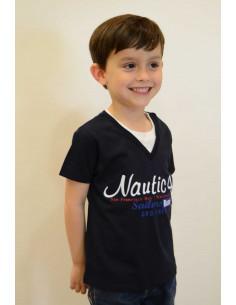 Camiseta de niño verano náutica de Girandola