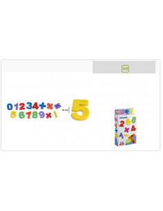 Juguete números magnéticas 54 piezas de Miniland