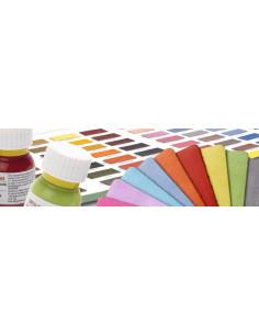 Tintes para reparar calzados con 99 colores de Roce