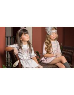 Vestido colección Brumas Rosas temporada otoño-invierno 2015