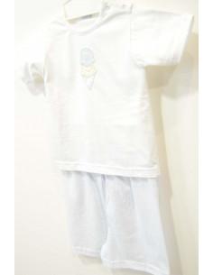 Conjunto niños verano de camisa y pantalón de Babidú