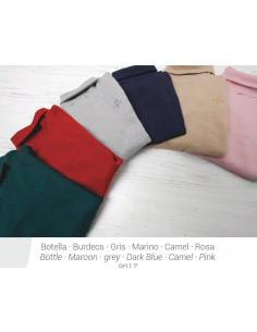 Jersey algodón rosa Pilar Batanero invierno 2015