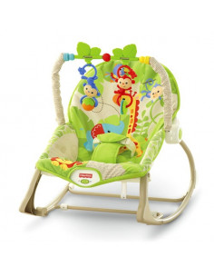 Hamaca 3 en 1 monitos divertidos de Fisher Price