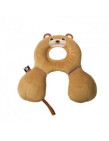 Almohada cervical amigos de viaje 0-1 año oso de Benbat