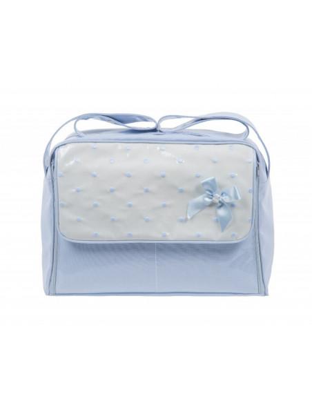 Bolso cambiador coche bebé plastificado Edén de Mico's Colección