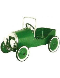 Coche a pedales Clásico Verde diseño de 1939