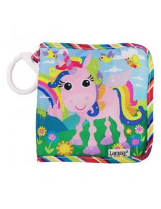 Libro para bebé Tilly el Unicornio con texturas de Lamaze