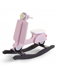 Scooter balancín rosa de Child Home