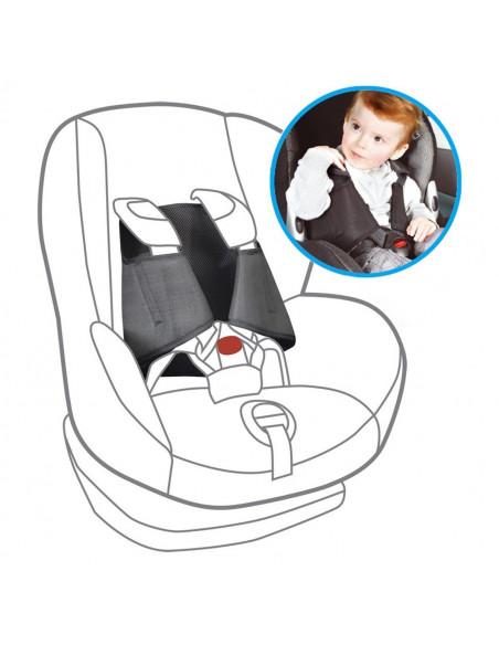 Malos usos de la silla de auto