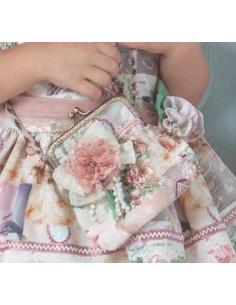 Vestido niña con la espalda descubierta Loan Bor Primavera