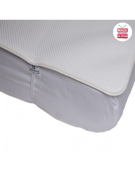 Protector de colchón 3D de 60 * 120 cm para la cuna de tú bebé de Cambrass