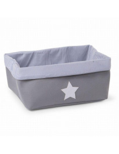 Cesta de almacenaje 40x30x20 canvas de Child Home