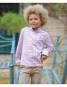 Camisa niño Cuadros Burdeos La Ormiga Invierno