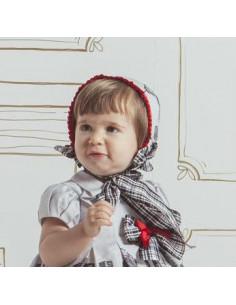 Capota para niña Rascacielos de Loan Bor Invierno 2017