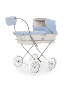 Kit de invierno celeste para coche muñecas de Bebelux