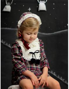 Vestido para niña Hojas de Foque Invierno 2017