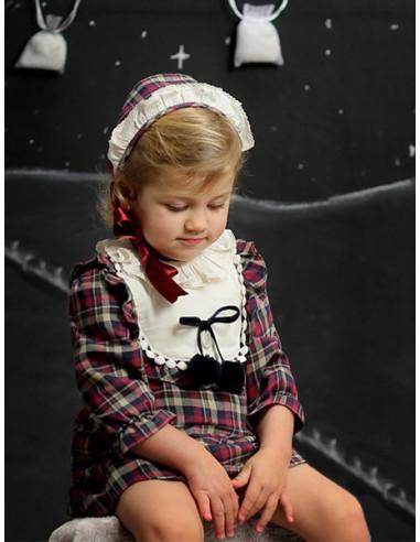 8eab05b6e Vestido para niña Hojas de Foque Invierno 2017
