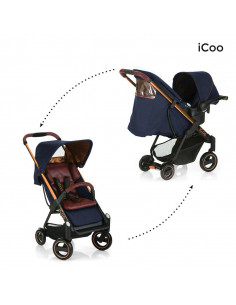 Sistema de viaje iCoo Acrobat Shop´n Drive Cooper