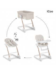 Convertible iCoo Grow With me 1-2-3 Diamond beige