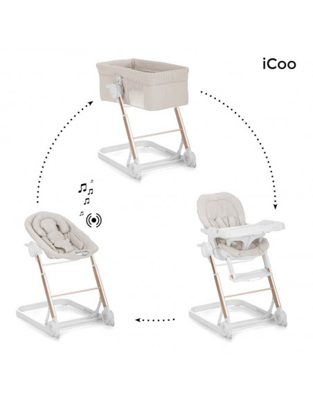 Convertible iCoo Grow With me 1-2-3 Diamond beige