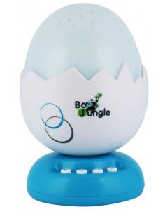 Proyector de luz con música B-Egg de Bo Jungle