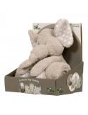 Peluche con manta Zimbe el Elefante de Bo Jungle