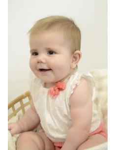 Pelele para bebé niña Primavera de Paz Rodríguez