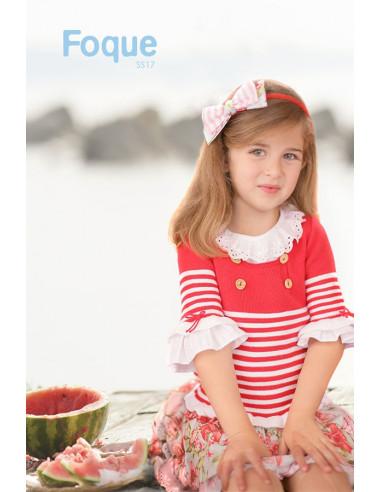 31f4592d7 Jersey listas para niña Sandía de Foque