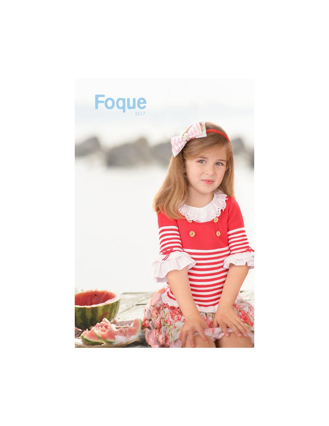 Pasada o diadema para niña Sandía de Foque