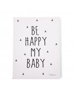 Cuadro infantil se feliz mi bebé de Child Home