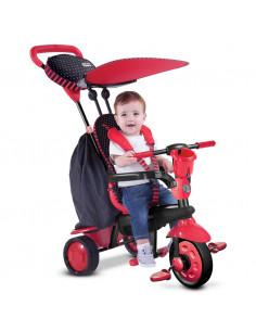 Triciclo 4 en 1 Spark rojo de Smart Trike