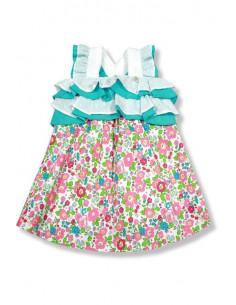 Vestido para niña Flores de Foque