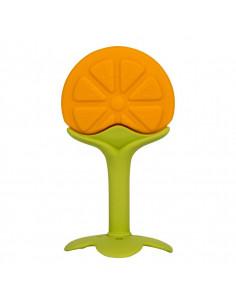 Mordedor con forma de naranja de Bo Jungle