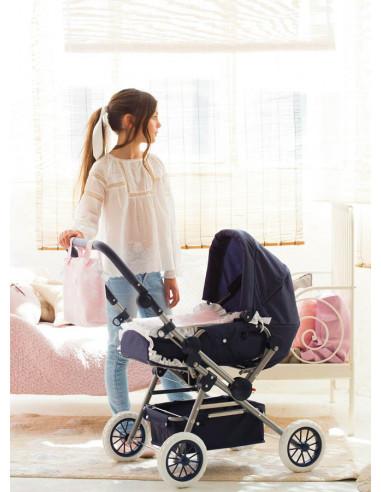5f0750f7a Cuco y silla de muñecas grande para niñas Carlota La Nina