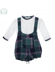 Conjunto Picolino de bebe para niño Cervantes de Marta y Paula Invierno