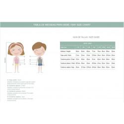 Guía de tallas de Marta y Paula