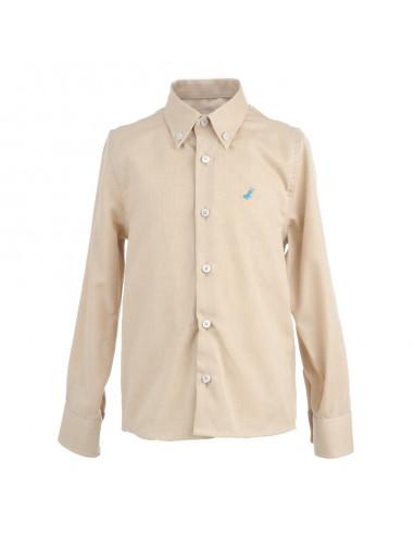 a812383b7fdf6 Camisa camel para niño de La Ormiga Invierno