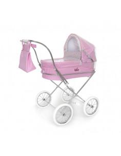 Burbuja rosa para coche redondo de muñecas de Bebelux