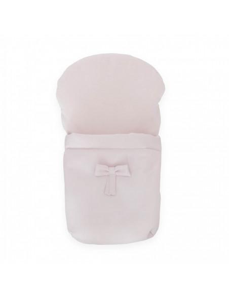 Saco silla napa rosa para silla muñecas de Bebelux