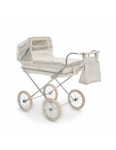 Burbuja beige para carrito pequeño de muñecas de Bebelux