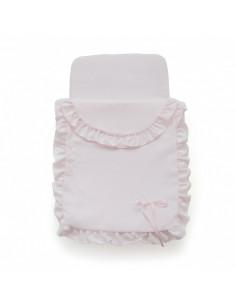 Saco rosa de coche de muñecas de Bebelux
