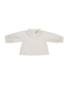 Blusa de bebé para niña Rabbit de Pili Carrera