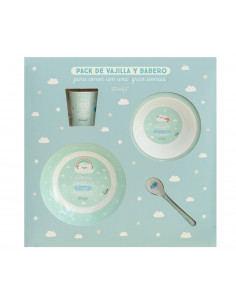 Set de Regalo cielo vajilla infantil Mr. Wonderful