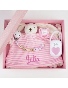 Cajita Baby Born Deluxe Rosa Personalizada de Mi Pipo