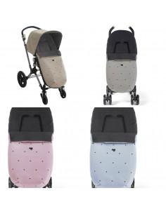 Saco de invierno para silla de paseo con pelo Mini de Uzturre