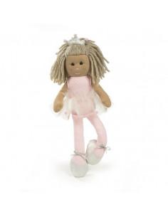 Muñeca de trapo Marta de la colección Carlota de La Nina
