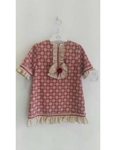 Vestido para niña Mirando a la Toscana de Marta y Paula Invierno